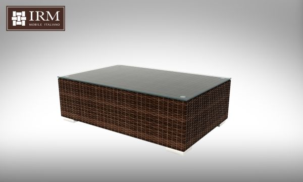 Konferenční stolek z umělého ratanu Aperto 110x70