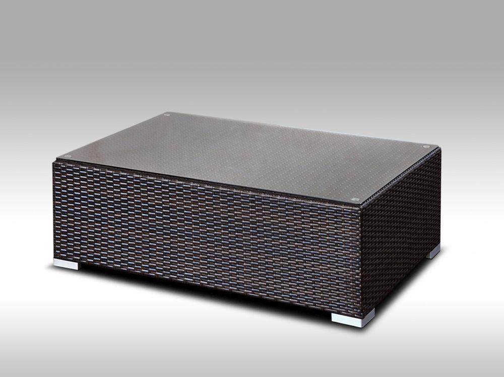 Konferenční stolek z umělého ratanu Conchetta