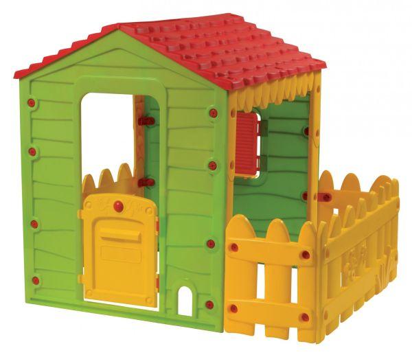 Dětský domeček Farm s plotem