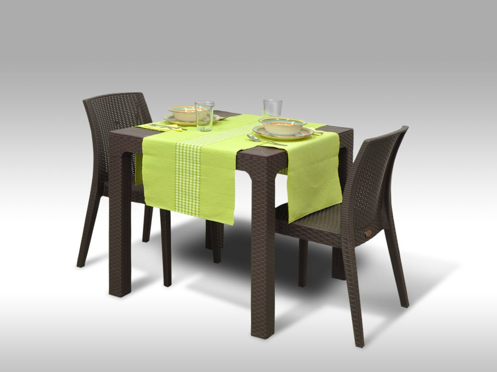 Jídelní sestava Granada + 2 židle Benidorm