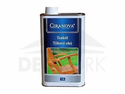 Ochranný ECO teakový olej Ciranova 1 l