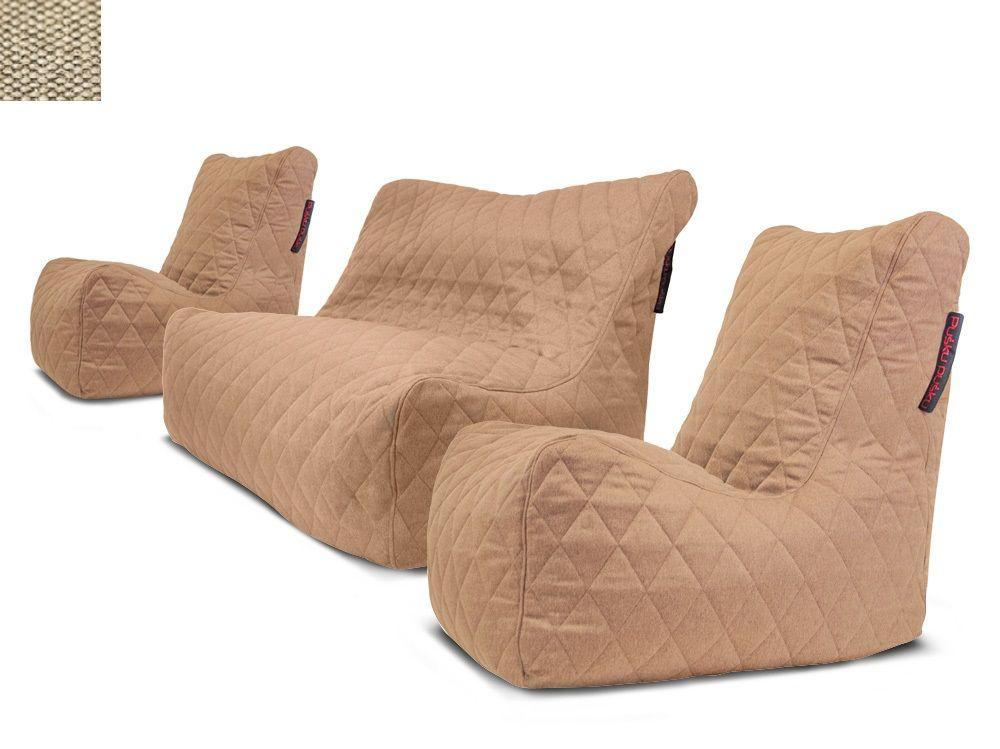 Sedací souprava Seat Quilted Nordic Beige
