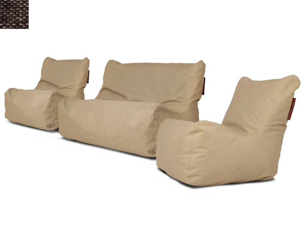 Sedací souprava Seat Home Dark cinammon