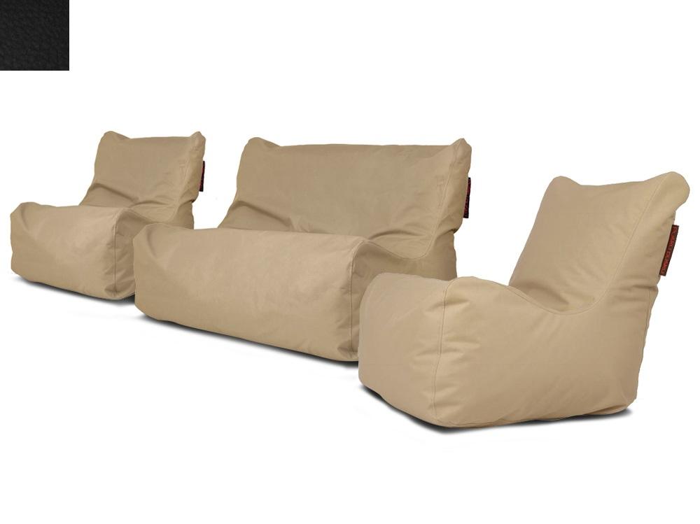 Venkovní sedací souprava Seat Black