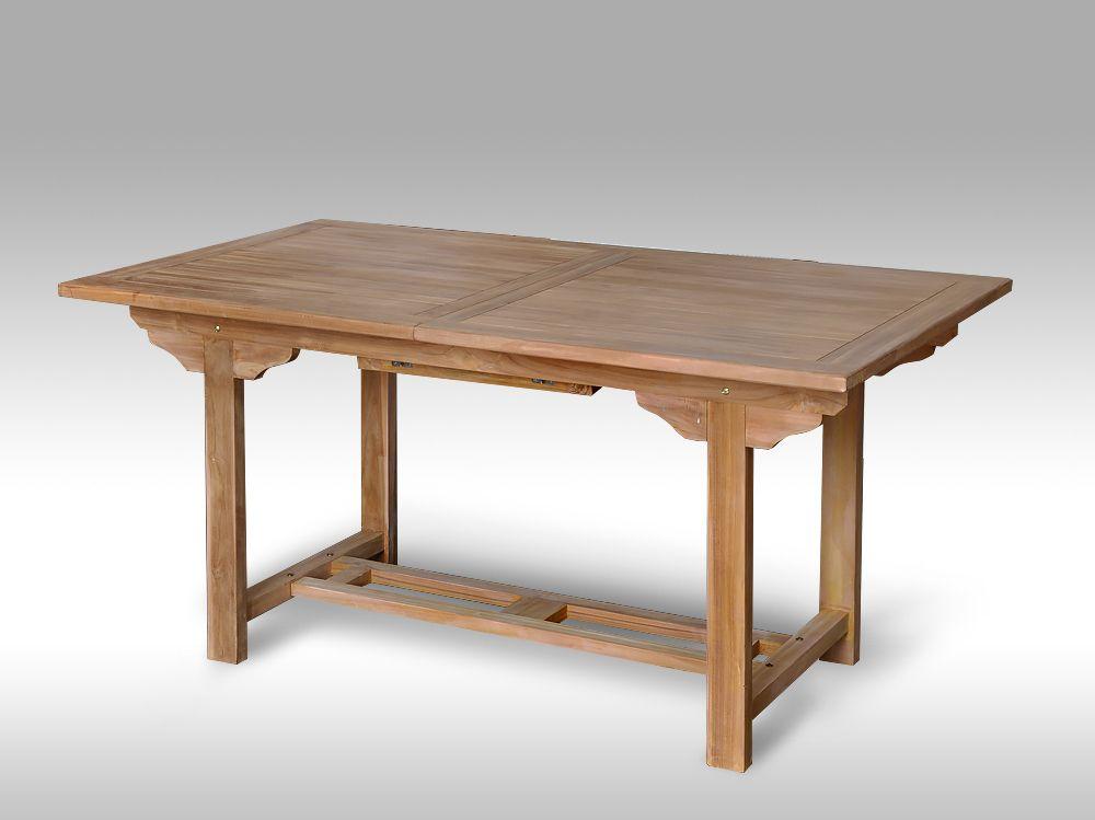 Teakový jídelní stůl Sumatra 160/210x100 cm