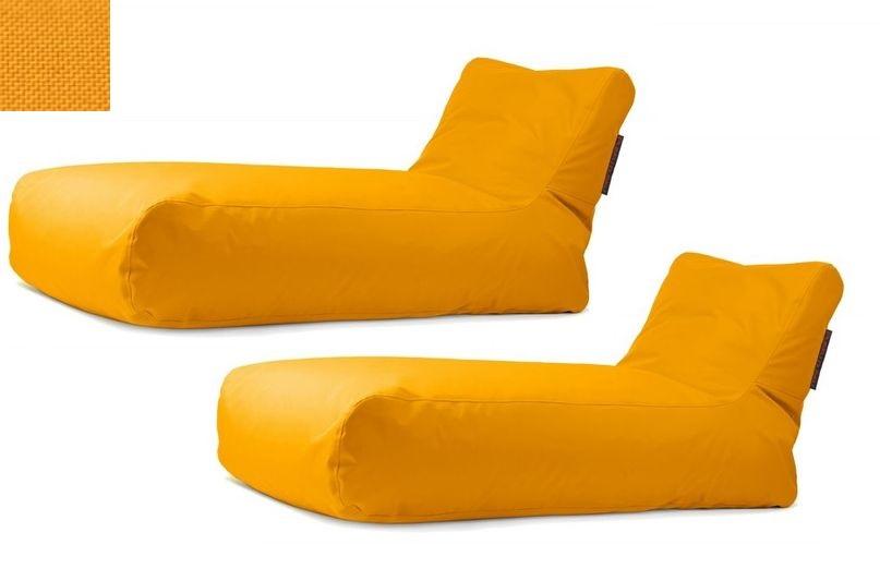 Akční set: 2x lehátko Sunbed Yellow