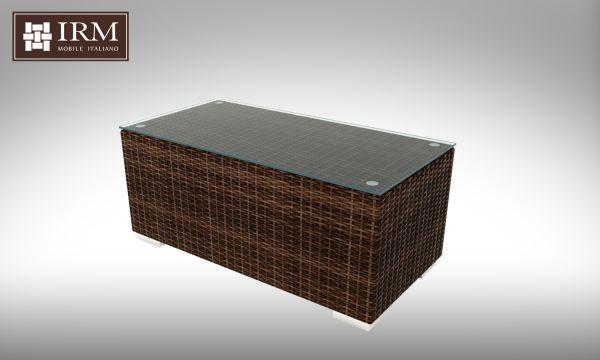 Konferenční stolek z umělého ratanu Aperto 100x50