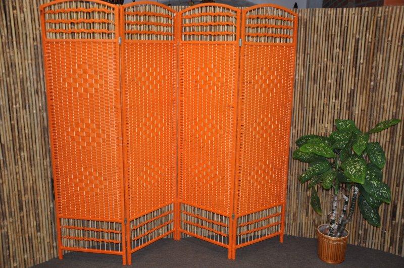 Paravan provázkový barva oranžová