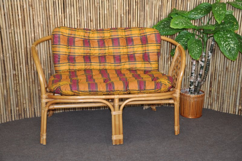 Polstr na lavici Cayman okrový