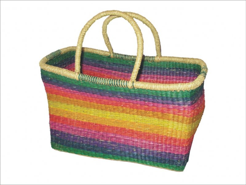Taška mořská tráva barevná XL