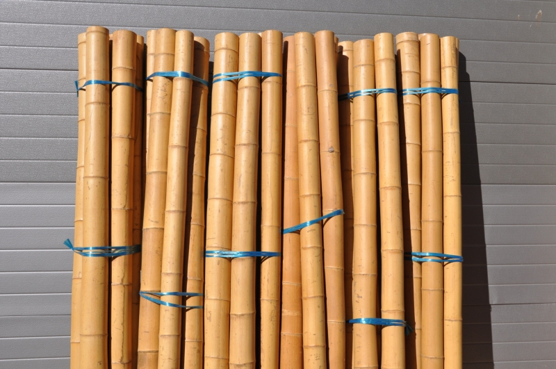 Bambusová tyč průměr 7 cm a délka 2 metry