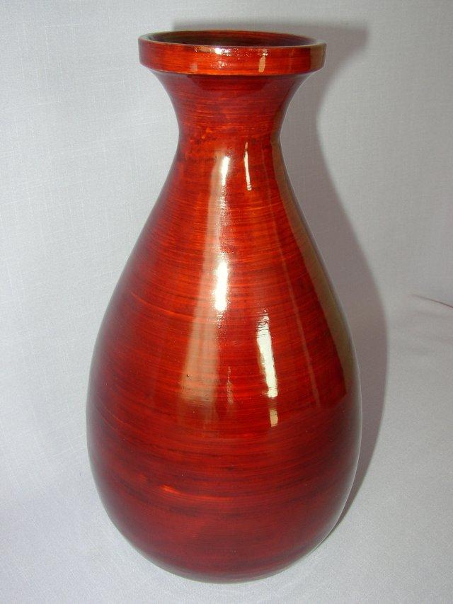 Bambusová váza klasik