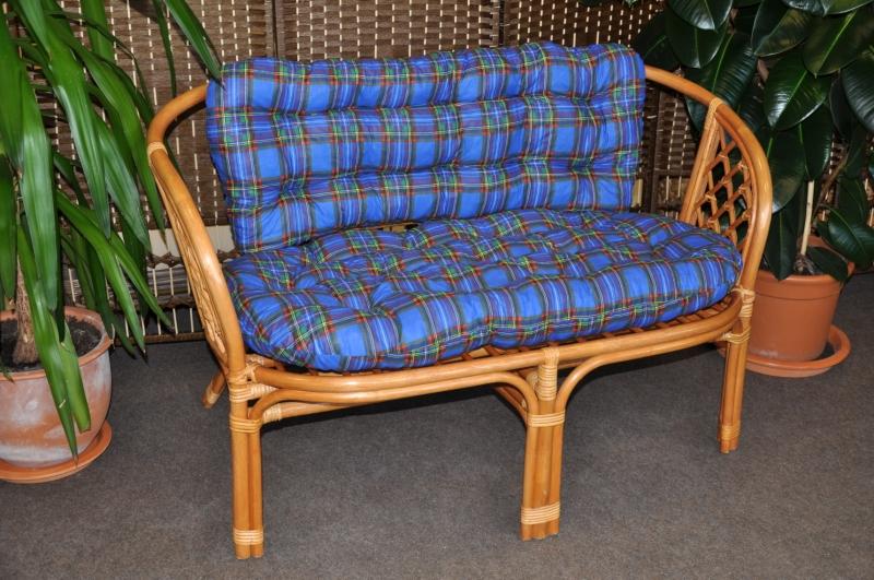 Polstr na lavici Cayman modrý