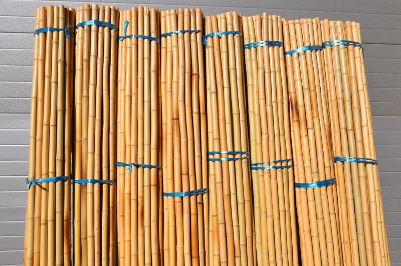 Bambusová tyč 4- 5 cm, délka 2 metry