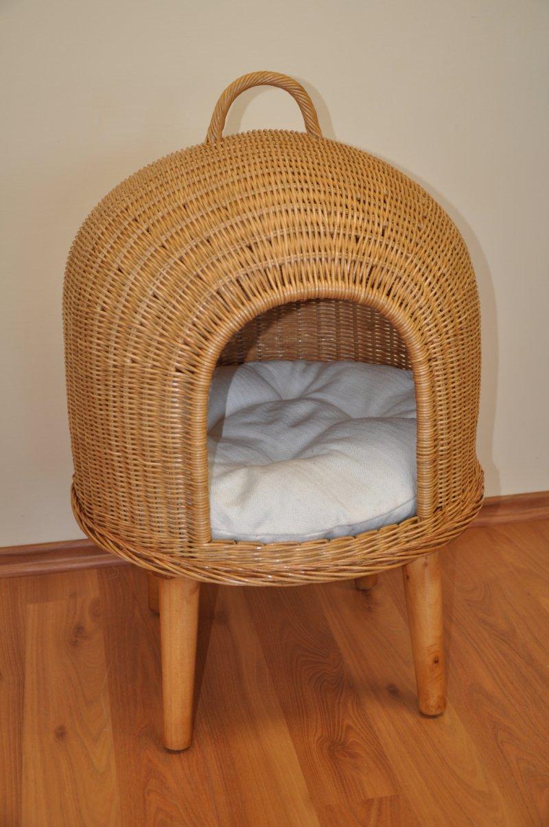 Pelech pro kočku - vzor ptačí hnízdo