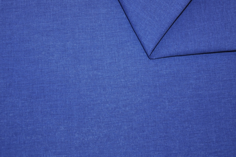 Látka Uni Living tmavě modrý melír
