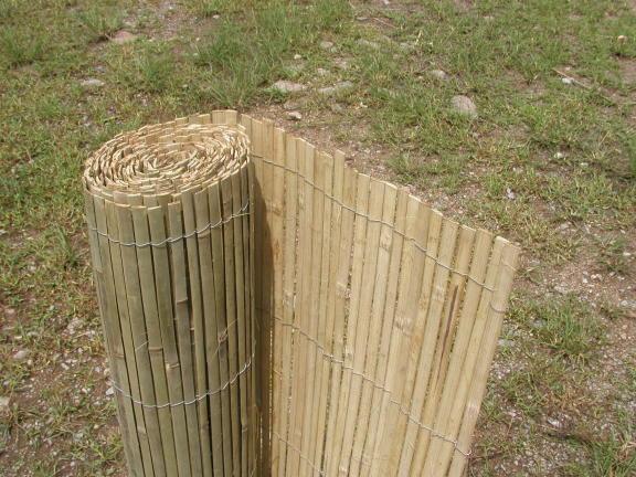 Bambusová rohož plotová - štípaná výška 130cm, délka 5 metrů