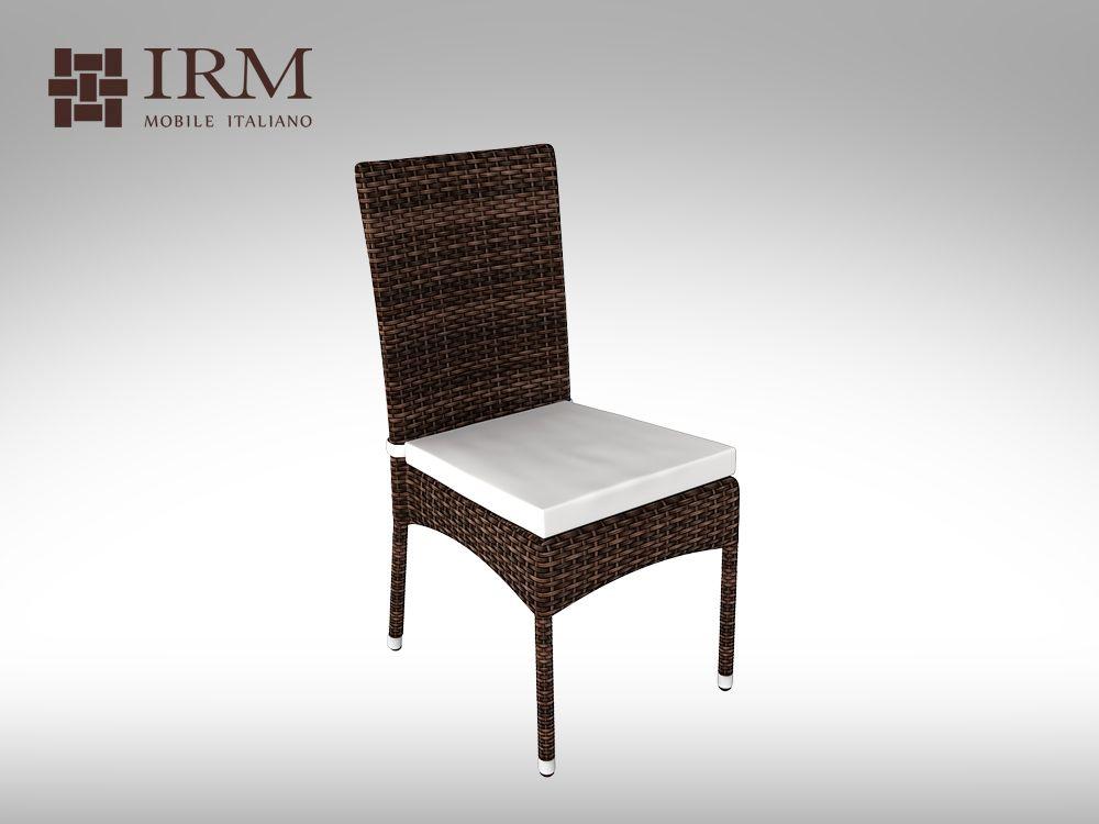 Židle z umělého ratanu Passero