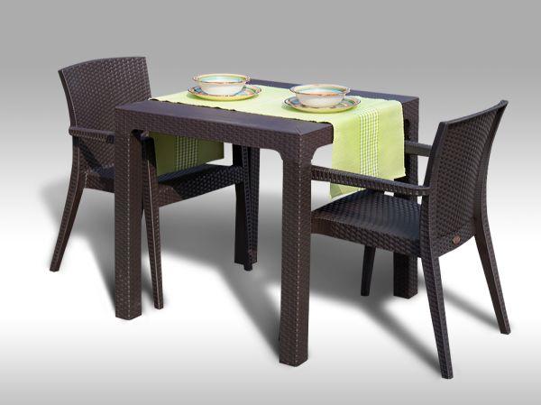Zahradní sestava Barcelona + 2 židle Montana
